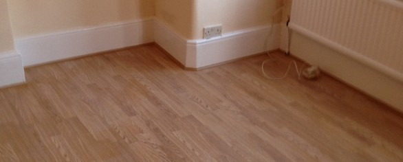 Fitted Laminated Floor